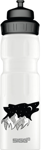 Ramble On Starry Night Wolf - 0.75L WMB Sports bottle