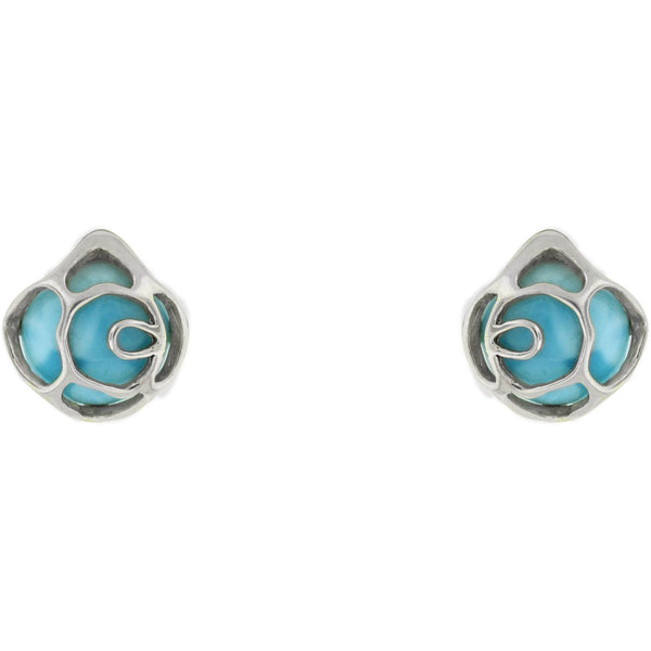 The Larimar Masterpiece Earring Collection