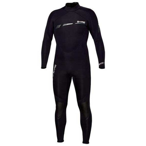 Bare 3/2mm Sport S-Flex Mens Wetsuit, Bare - New England Dive