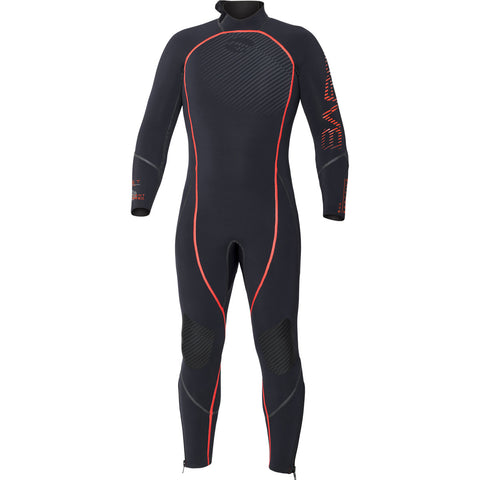 Bare 5mm Reactive Full Men's Wetsuit, Bare - New England Dive