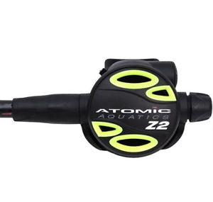 Atomic Aquatics Z2 Octopus 36in. hose Yellow, Atomic - New England Dive