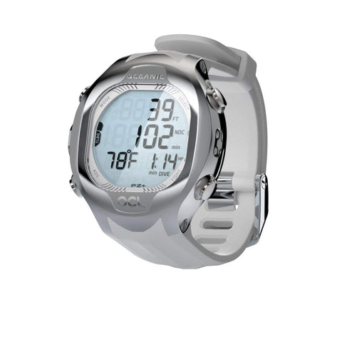 Oceanic OCL Wrist Watch and Dive Computer Without USB White, Oceanic - New England Dive