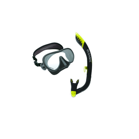Oceanic Mini Shadow Mask W/ Ultra Dry Snorkel 2