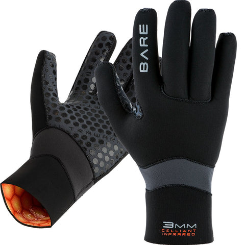Bare 5mm Ultrawarmth Wetsuit Glove, Huish Outdoors - New England Dive