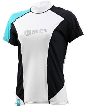 Mares She Dives Rash Guard Loose Fit Short Sleeve