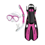 Mares Pirate/ Allegra Fin Junior Snorkel Set, Mares - New England Dive