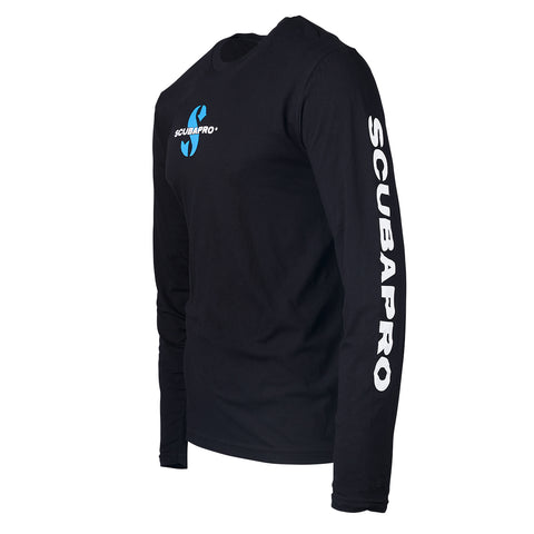 Scubapro Long Sleeve T-Shirt Men Black