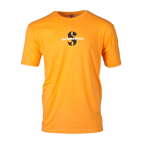 Scubapro Short Sleeve Mens Crew T-Shirt Orange