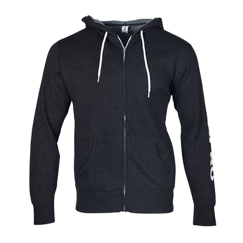 Scubapro Unisex Charcoal Gray Zip-up Hoodie