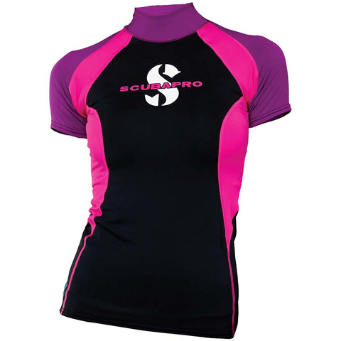 Scubapro Women's T-Flex Short Sleeve Rash Guard UPF 80