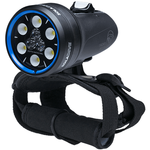 Light and Motion SOLA Dive 800 S-F 2019 BLACK US