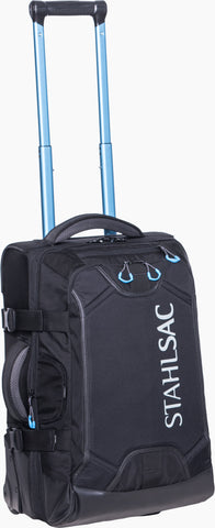 Stahlsac 22in Steel Carry-on Roller Bag