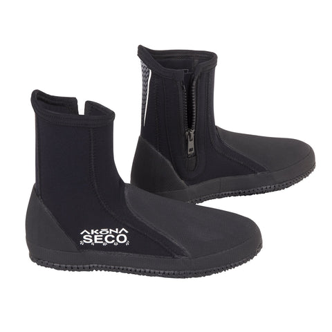 Akona 3mm Seco-Self Draining Boot, Sherwood - New England Dive