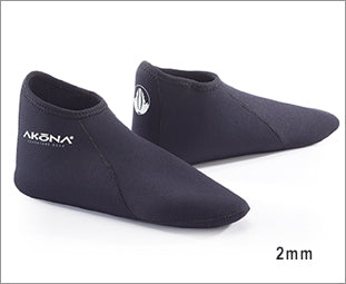 Akona 2mm Low Cut Sock, Akona - New England Dive