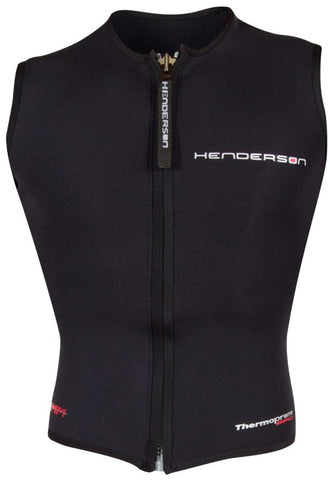 Henderson 3MM Thermoprene Men's Pro Zip Vest, Henderson - New England Dive