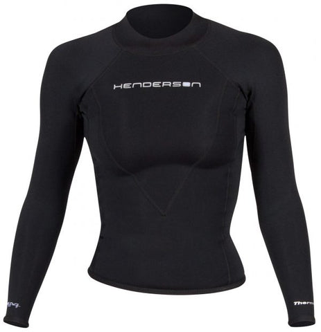 Henderson Women's 1.5MM Thermoprene Pro Long Sleeve Top, Henderson - New England Dive