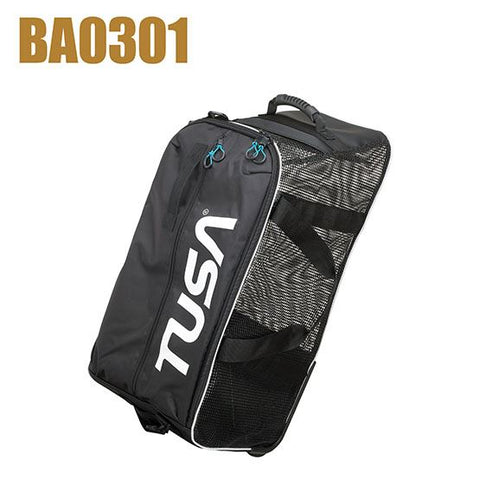 Tusa Roller Mesh Gear Bag Black