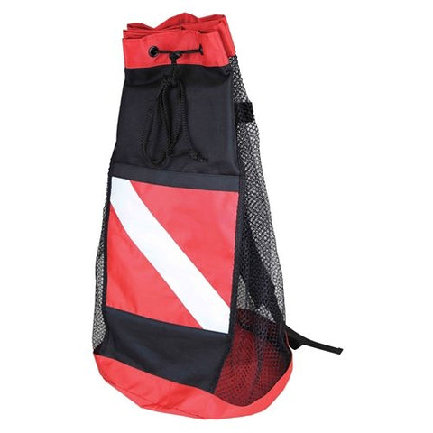 Scubamax dive flag mesh backpack