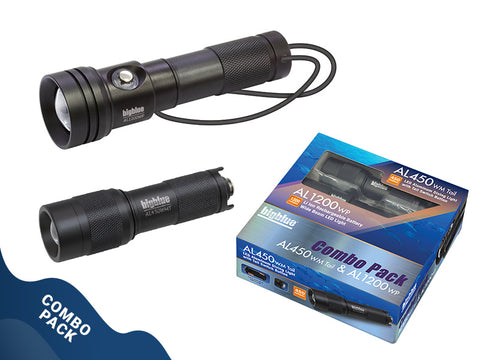 BigBlue 1200 Lumen Wide beam Combo pack, BigBlue - New England Dive