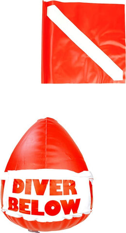 Scubamax Inflatable Dive Flag Float