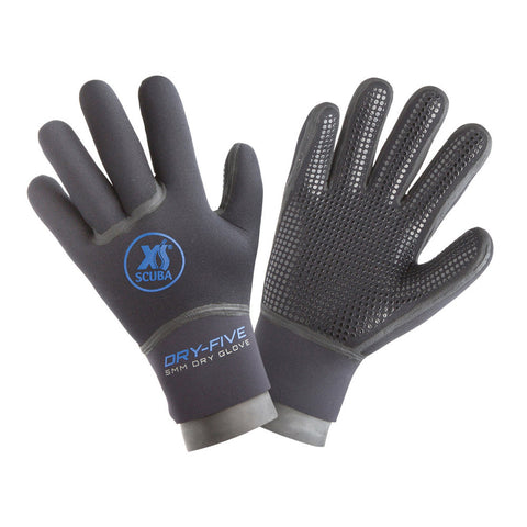 XS Scuba 5MM Dry Five Glove, XS Scuba - New England Dive