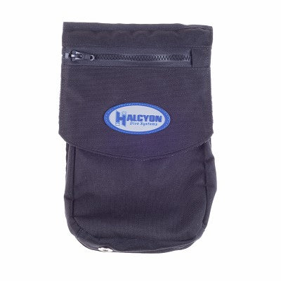 Halcyon Bellow pocket Velcro closure internal divider utility loops