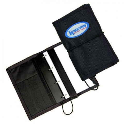 Halcyon Diver ft.s Notebook w/ tables window pockets pencil holders, Halcyon - New England Dive