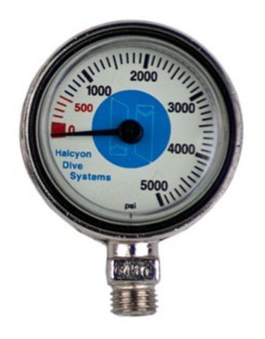 Halcyon Submersible pressure gauge for Stage 0-5000 psi, Halcyon - New England Dive