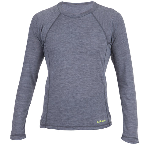 Kokatat WoolCore Heather Charcoal Long Sleeve