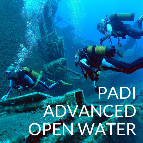 NED PADI Advanced Open Water - Code, Class, Card, New England Dive - New England Dive