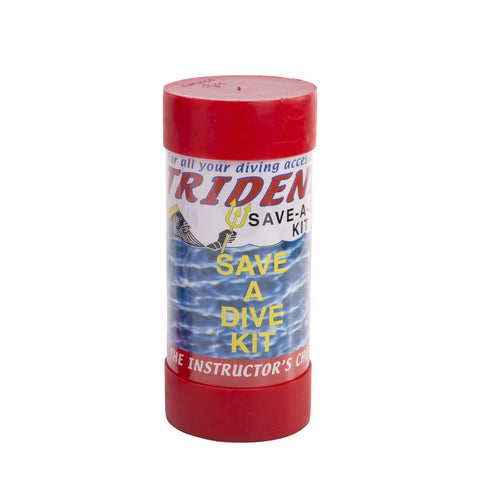 Trident BLK SAVE A DIVE IN TUBE, Trident - New England Dive