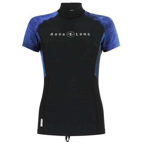Aqua Lung Women's Rash Guard Short Sleeve, New England Dive - New England Dive
