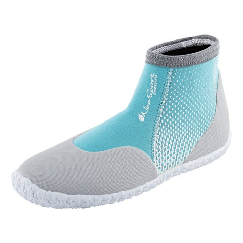 NeoSport Neoprene 3mm Low Top Pull on Boot, NeoSport - New England Dive