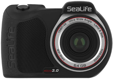 Sealife Micro 3.0 Camera 64GB 16mp 4K