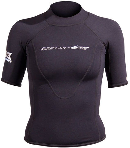 NeoSport Women's 1.5mm Short Sleeve Top, Henderson - New England Dive