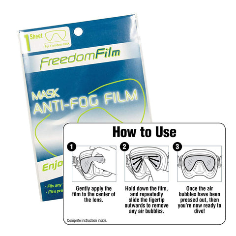 Tusa FREEDOM FILM ANTI-FOG  All Single Window masks
