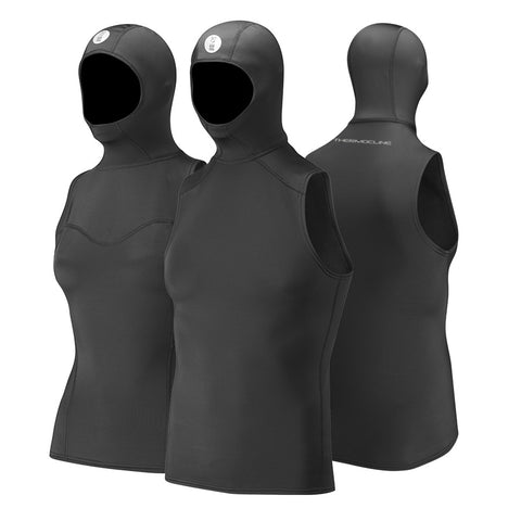 Fourth Element Thermocline Ladies Hooded Vest, Fourth Element - New England Dive