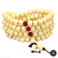 108 Rosewood Prayer Mala Beads Bracelet color 12