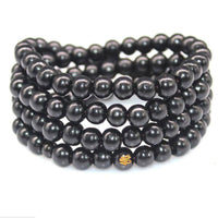 108 Rosewood Prayer Mala Beads Bracelet color 3