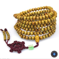 108 Rosewood Prayer Mala Beads Bracelet color 5