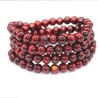 108 Rosewood Prayer Mala Beads Bracelet color 9