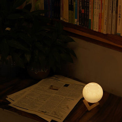 3D Earth Lamp 3D Lights