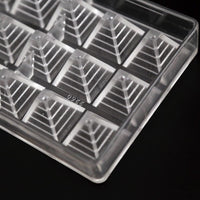 3D Pyramid Chocolate Mold Pyramids
