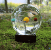 3D Solar System Crystal Ball Statues