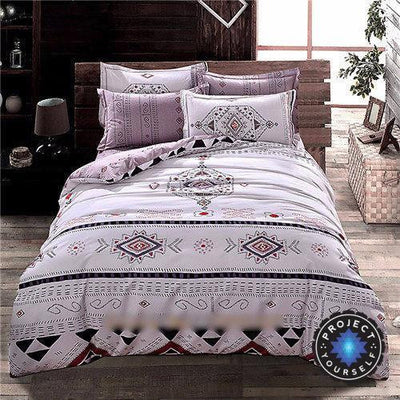 4-Piece Mandala Bedding Sets Ethnic / Queen Bed Sheets