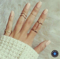 6-Piece Stackable Ring Set Rings