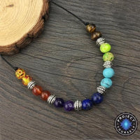 7 Chakra Healing Crystals Necklace Chakra Necklace
