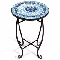 Mandala Accent Indoor Plant Table