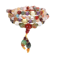 Kaleidoscope High Vibration Quartz Mala