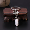 Life Force Om Crystal Keychain